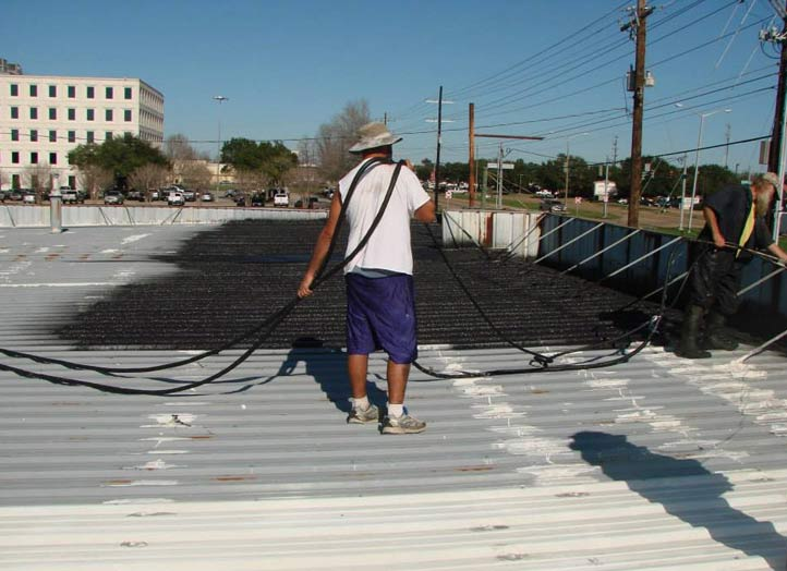flat roofs in  New Orleans, Houma, Baton Rouge, Iberia Parish, Lafayette